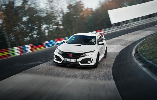 Un nou record la Nurburgring: Honda Civic Type-R detronează VW Golf GTI Clubsport și devine cea mai rapidă mașină cu tracțiune față (VIDEO) - Poza 3