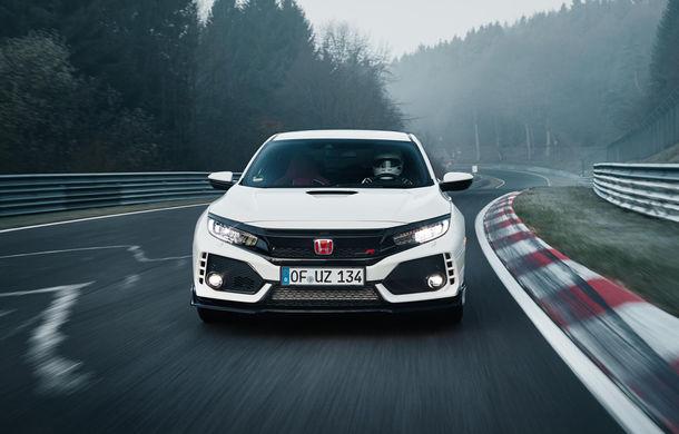 Un nou record la Nurburgring: Honda Civic Type-R detronează VW Golf GTI Clubsport și devine cea mai rapidă mașină cu tracțiune față (VIDEO) - Poza 2
