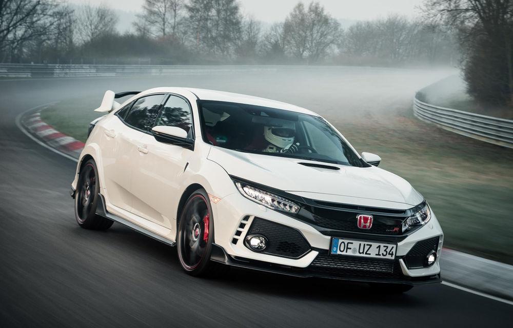 Un nou record la Nurburgring: Honda Civic Type-R detronează VW Golf GTI Clubsport și devine cea mai rapidă mașină cu tracțiune față (VIDEO) - Poza 1