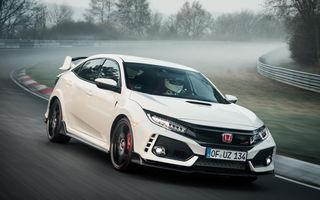 Un nou record la Nurburgring: Honda Civic Type-R detronează VW Golf GTI Clubsport și devine cea mai rapidă mașină cu tracțiune față (VIDEO)