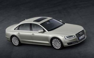 Noul Audi A8 va decide singur când să vireze, accelereze și frâneze, dar încă nu poate fi folosit legal pe drumuri publice