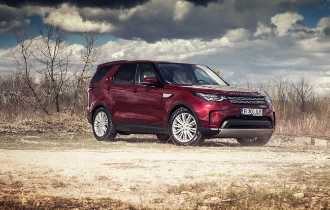 Test drive Land Rover Discovery