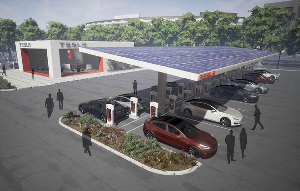 Acuzată că își supraveghează angajații, Tesla promite dublarea rețelei de stații de încărcare în 2017 în așteptarea lui Model 3 - Poza 1