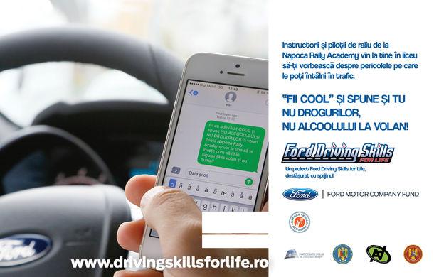Campania Ford Driving Skills for Life continuă în 2017: programul de conducere defensivă ajunge în Oradea, București și Constanța - Poza 3