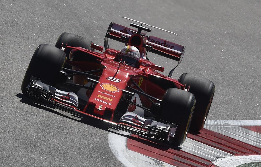 Ferrari a dominat antrenamentele de Formula 1 din Rusia, urmată de Mercedes și Red Bull - Poza 1
