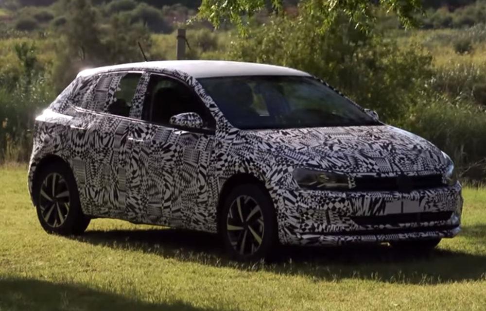 Primele indicii despre noua generație Volkswagen Polo: imagini cu subcompacta sub camuflaj în timpul testelor (VIDEO) - Poza 1
