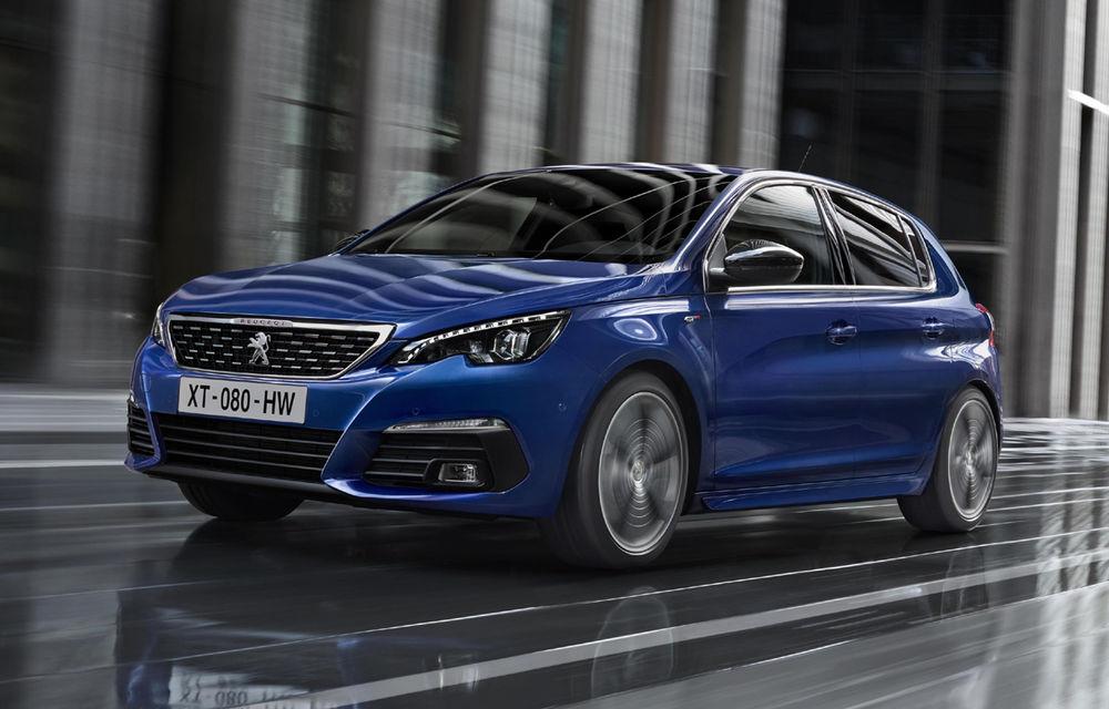 Prima imagine oficială cu Peugeot 308 facelift: modificări subtile de design și un nou motor diesel de 130 de cai putere - Poza 1