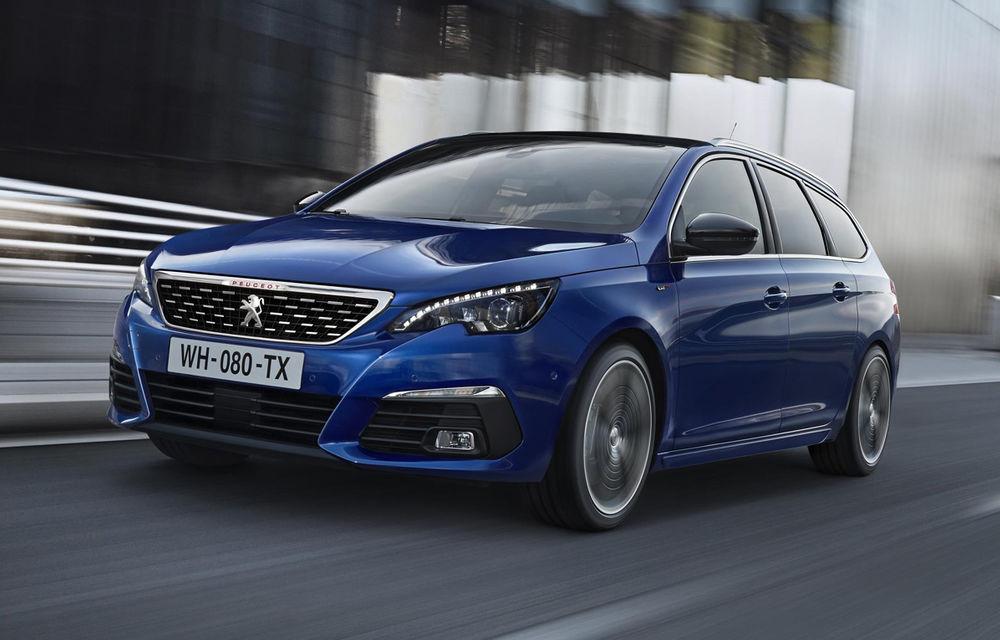 Prima imagine oficială cu Peugeot 308 facelift: modificări subtile de design și un nou motor diesel de 130 de cai putere - Poza 2