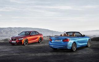 BMW Seria 2 Coupe și Cabrio primesc un facelift minor, interior actualizat și faruri adaptive LED