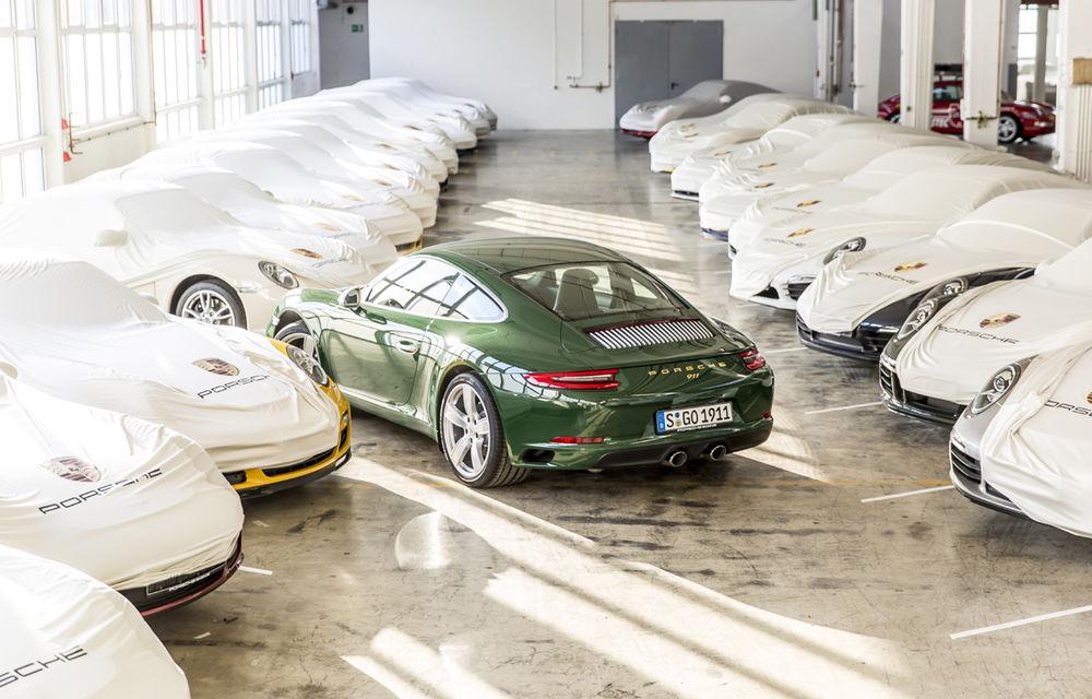 """Aniversare la Stuttgart: Porsche 911 a ajuns la un milion de unităţi produse după o """"carieră"""" de 54 de ani - Poza 2"""