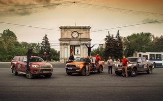 Final de Pick-up Maraton Moldova: de la un conac părăsit la Arcul de Triumf din Chișinău