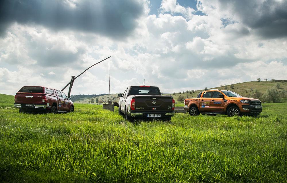 Pick-up perfect nu există. Dar îl construim noi din cele mai bune părți ale lui Hilux, Navara și Ranger - Poza 34