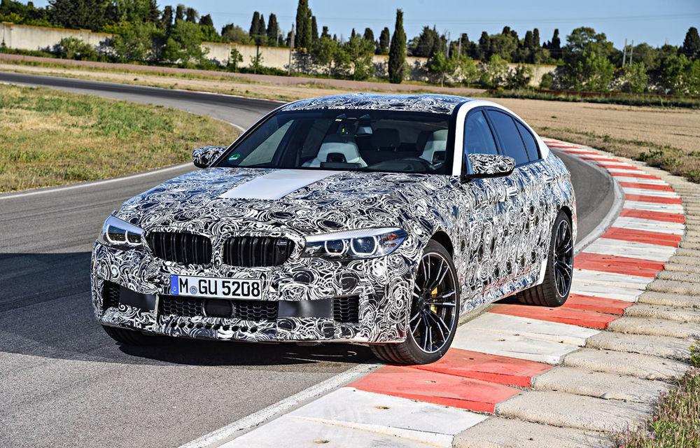 Noul BMW M5 este mai complicat decât un ceas elvețian: instalarea tracțiunii integrale xDrive presupune cinci moduri diferite de rulare - Poza 1