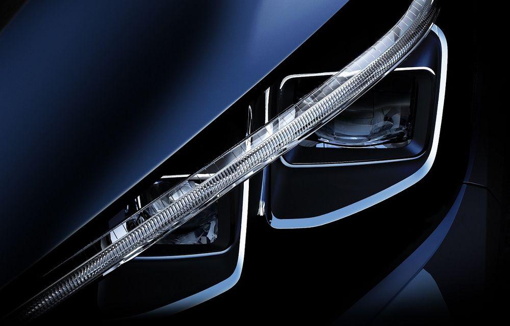 Primul teaser pentru noua generație Nissan Leaf: electrica va ajunge la o autonomie de 500 de kilometri - Poza 1
