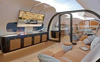 De la supercaruri la avioane: designerii Pagani au desenat interiorul unei aeronave Airbus