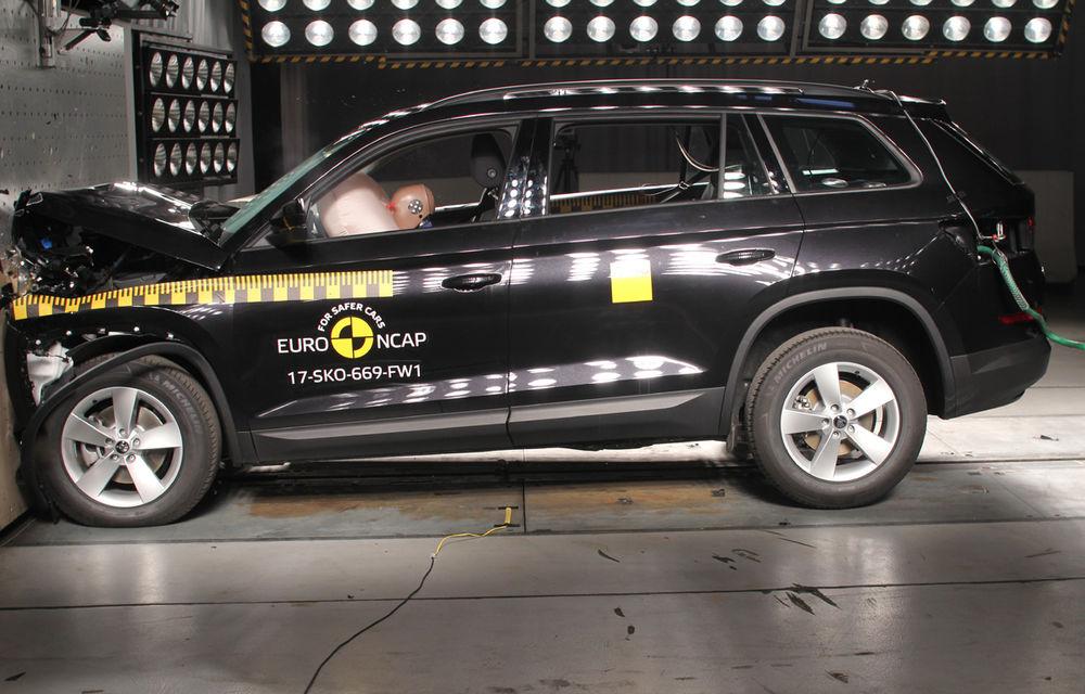 Skoda Kodiaq a trecut testul siguranței: 5 stele EuroNCAP. Nissan Micra a primit 4 stele, Suzuki Swift doar 3 - Poza 2