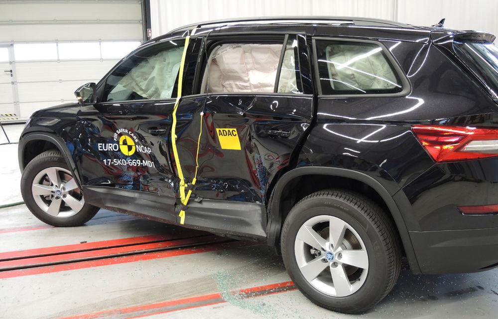 Skoda Kodiaq a trecut testul siguranței: 5 stele EuroNCAP. Nissan Micra a primit 4 stele, Suzuki Swift doar 3 - Poza 5