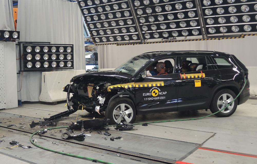 Skoda Kodiaq a trecut testul siguranței: 5 stele EuroNCAP. Nissan Micra a primit 4 stele, Suzuki Swift doar 3 - Poza 1