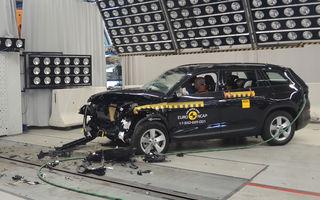 Skoda Kodiaq a trecut testul siguranței: 5 stele EuroNCAP. Nissan Micra a primit 4 stele, Suzuki Swift doar 3