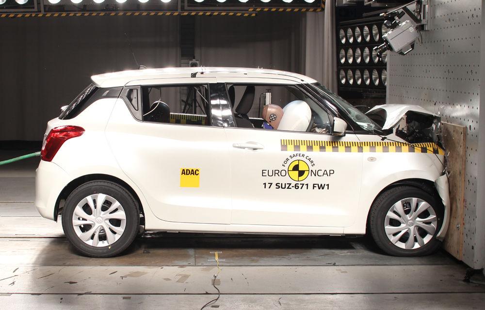 Skoda Kodiaq a trecut testul siguranței: 5 stele EuroNCAP. Nissan Micra a primit 4 stele, Suzuki Swift doar 3 - Poza 13