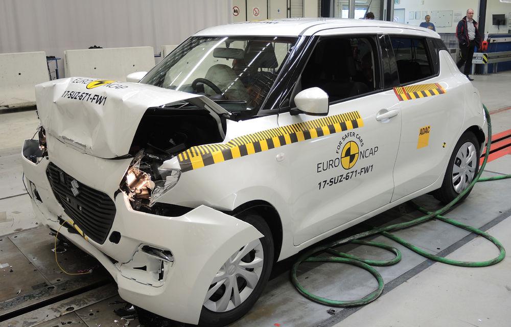 Skoda Kodiaq a trecut testul siguranței: 5 stele EuroNCAP. Nissan Micra a primit 4 stele, Suzuki Swift doar 3 - Poza 14