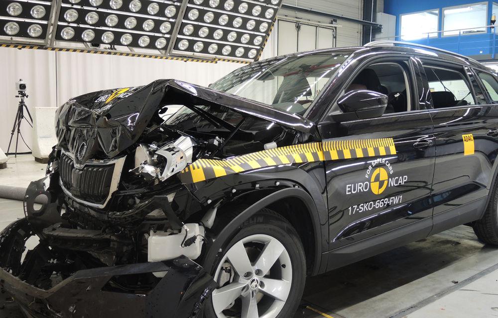 Skoda Kodiaq a trecut testul siguranței: 5 stele EuroNCAP. Nissan Micra a primit 4 stele, Suzuki Swift doar 3 - Poza 3