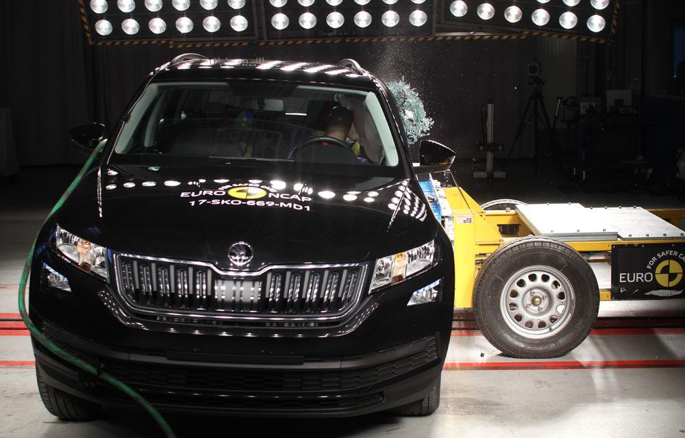 Skoda Kodiaq a trecut testul siguranței: 5 stele EuroNCAP. Nissan Micra a primit 4 stele, Suzuki Swift doar 3 - Poza 4