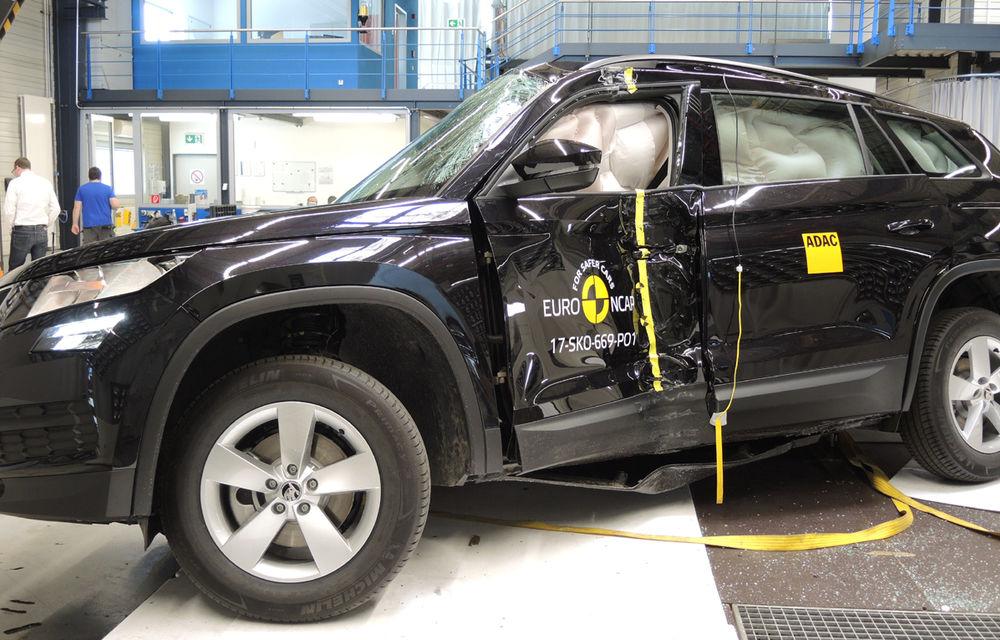 Skoda Kodiaq a trecut testul siguranței: 5 stele EuroNCAP. Nissan Micra a primit 4 stele, Suzuki Swift doar 3 - Poza 6