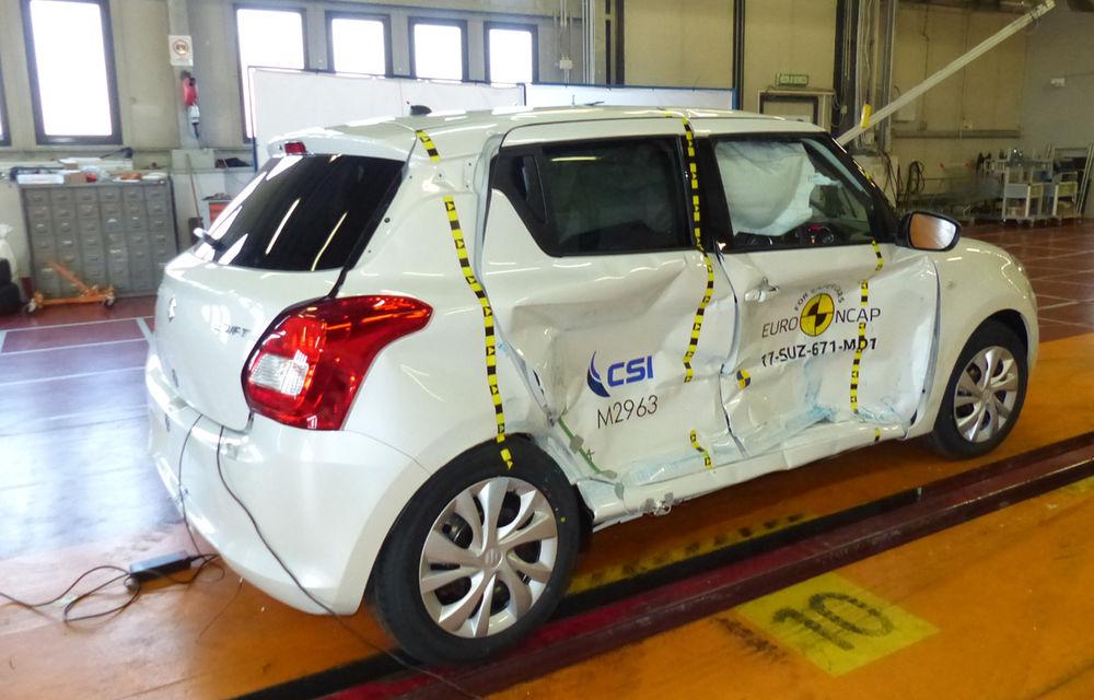 Skoda Kodiaq a trecut testul siguranței: 5 stele EuroNCAP. Nissan Micra a primit 4 stele, Suzuki Swift doar 3 - Poza 15