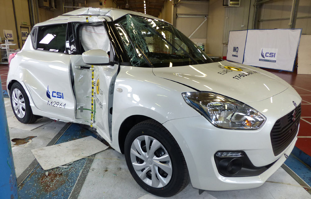 Skoda Kodiaq a trecut testul siguranței: 5 stele EuroNCAP. Nissan Micra a primit 4 stele, Suzuki Swift doar 3 - Poza 18