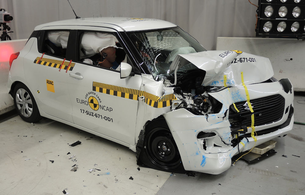 Skoda Kodiaq a trecut testul siguranței: 5 stele EuroNCAP. Nissan Micra a primit 4 stele, Suzuki Swift doar 3 - Poza 17