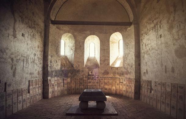 """Final de traseu pentru """"Un german in Transilvania"""": am văzut cum arată o abație și am aflat povestea Cetății Făgărașului - Poza 5"""