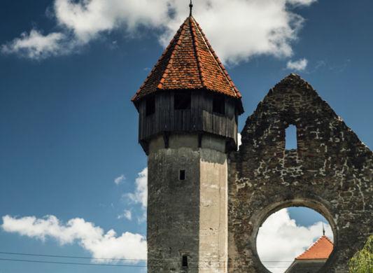 """Final de traseu pentru """"Un german in Transilvania"""": am văzut cum arată o abație și am aflat povestea Cetății Făgărașului - Poza 13"""