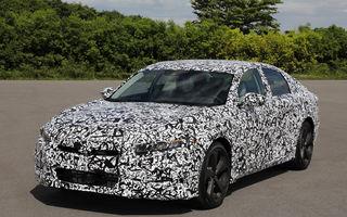 O mașină pe care Europa a pierdut-o: noua generație Honda Accord se va lansa cu un motor turbo de 2.0 litri și o cutie automată cu 10 trepte