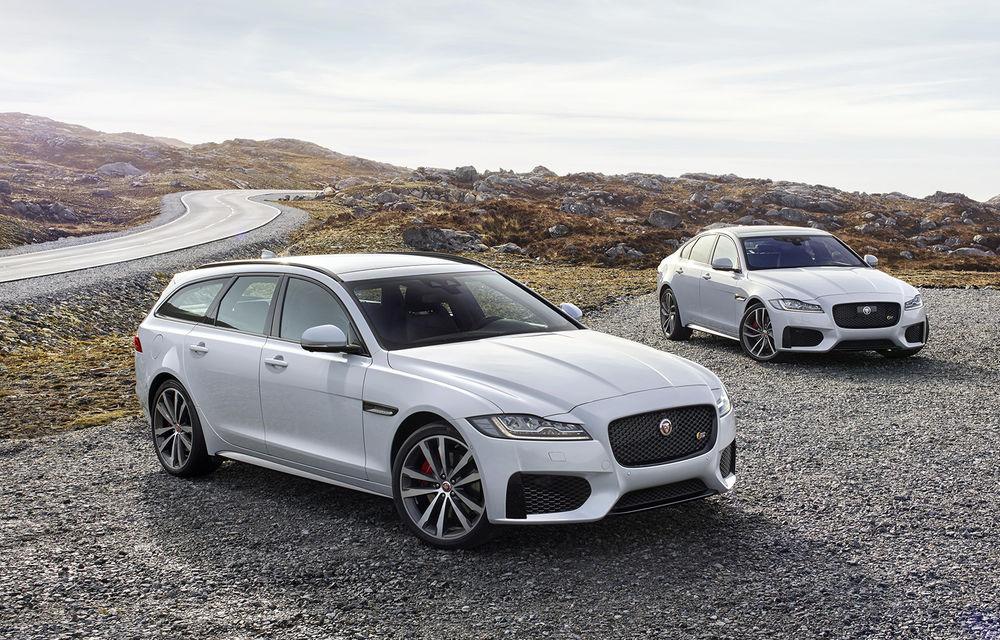 Jaguar s-a răzgândit: XF Sportbrake readuce break-urile în gama mărcii britanice - Poza 1