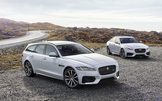 Jaguar s-a răzgândit: XF Sportbrake readuce break-urile în gama mărcii britanice