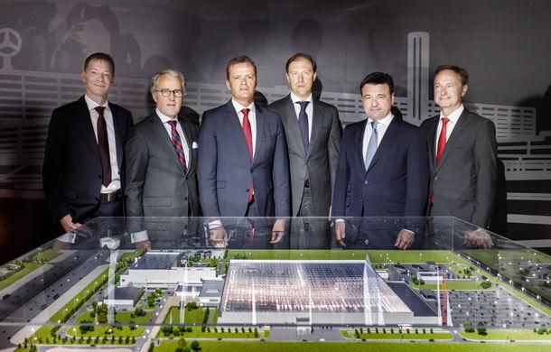 Rușii dansează pe Kalinka: Mercedes-Benz a început construcția unei fabrici de automobile lângă Moscova - Poza 1