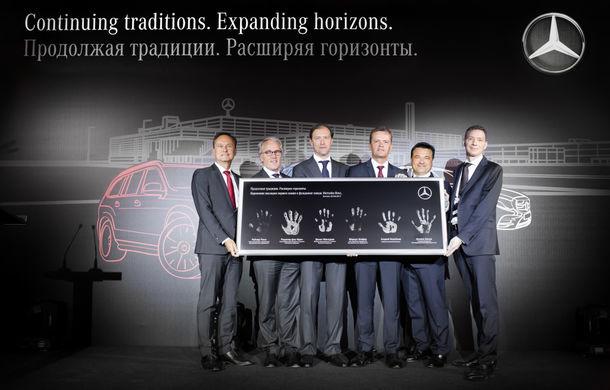 Rușii dansează pe Kalinka: Mercedes-Benz a început construcția unei fabrici de automobile lângă Moscova - Poza 2
