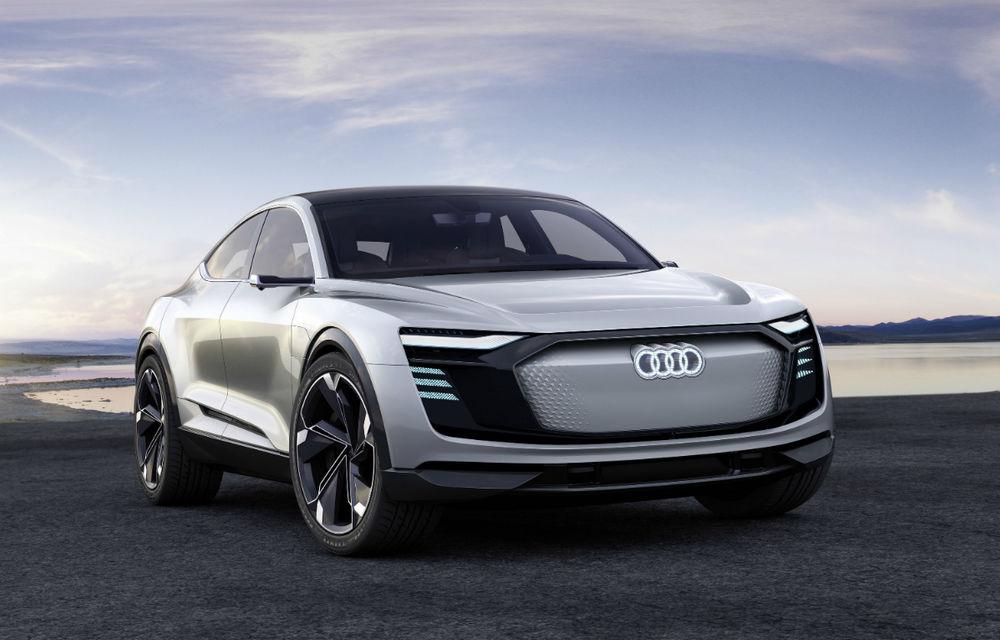 Audi e-tron Sportback va fi al doilea model electric al germanilor: vine în 2019 și păstrează numele conceptului - Poza 1