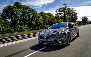 Informații noi despre Renault Megane RS: sportiva va avea direcție integrală și două setări pentru șasiu
