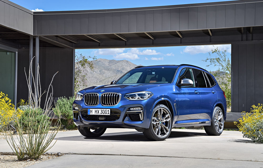 Noua generație BMW X3 se prezintă: design nou, interior remodelat și o versiune X3 M40i - Poza 1