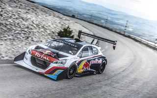 Cadou inedit: Loeb a primit mașina Peugeot 208 T16 cu care a doborât recordul la Pikes Peak în 2013