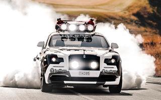 Schiorul Jon Olsson recidivează: a transformat un Rolls-Royce Wraith într-un sportiv de 810 CP