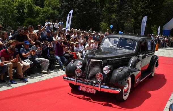 Best of Show: Cadillac Series 90 V16 din 1939 câștigă Concursul de Eleganță Sinaia 2017 - Poza 3