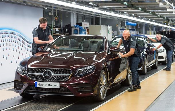 La timp pentru vară: noul Mercedes Clasa E Cabrio a intrat în producție - Poza 1