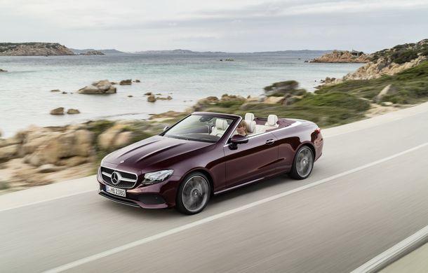 La timp pentru vară: noul Mercedes Clasa E Cabrio a intrat în producție - Poza 4