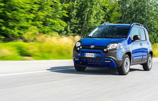 Pseudo-SUV: Fiat Panda City Cross este o citadină cu aspect off-road - Poza 4