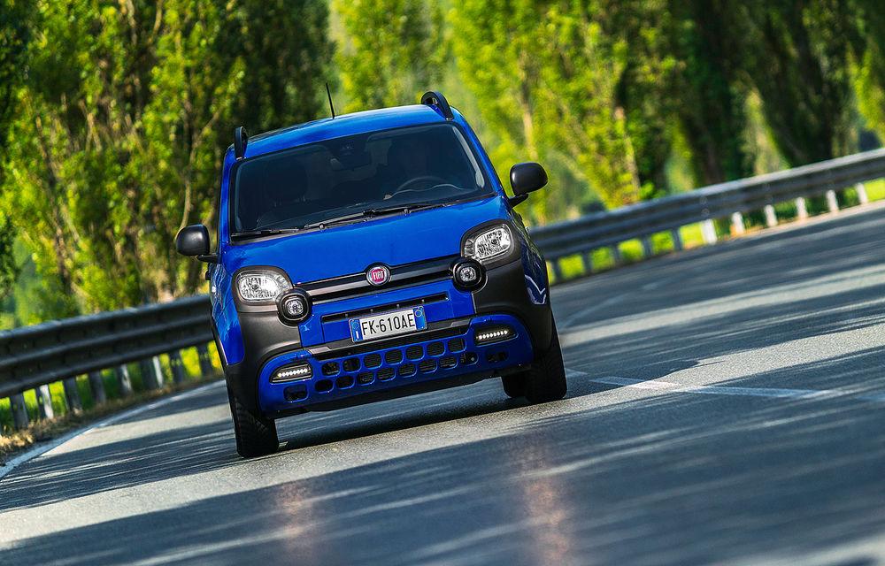 Pseudo-SUV: Fiat Panda City Cross este o citadină cu aspect off-road - Poza 8