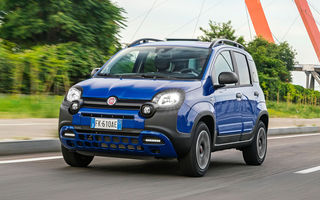 Pseudo-SUV: Fiat Panda City Cross este o citadină cu aspect off-road