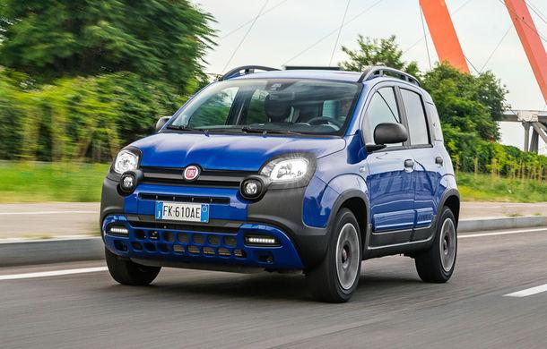 Pseudo-SUV: Fiat Panda City Cross este o citadină cu aspect off-road - Poza 1